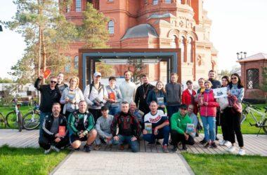 Собор Александра Невского станет отправной точкой нового молодежного велопаломничества