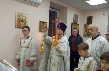 Первое Пасхальное богослужение в храме Святой Троицы