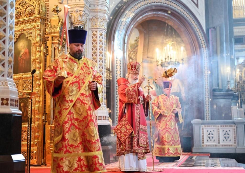 Слово Патриарха Кирилла в четверг Светлой седмицы