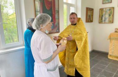В волгоградской больнице прошел молебен святителю Николаю