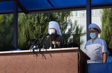 Митрополит Феодор поздравил выпускников Волгоградской академии МВД России