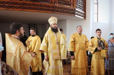 В Свято-Вознесенской обители состоялось архиерейское богослужение