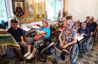 В Волгоградском доме престарелых отметили праздник Казанской иконы Божией Матери