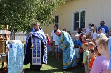 Юные прихожане храмов Волгоградской епархии получили благословение на начало учебы