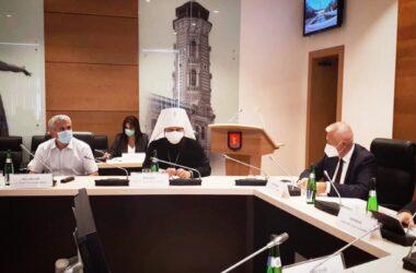 Митрополит Феодор принял участие в утверждении третьей десятки членов Общественной палаты