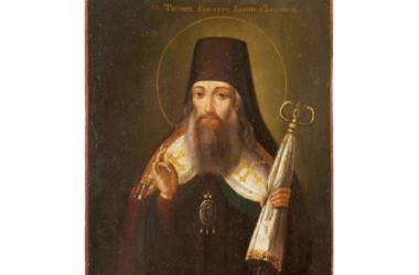 26 августа — день преставления и второго обретения мощей святителя Тихона Задонского