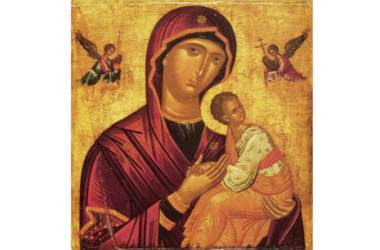 Святая Церковь совершает празднование икон Божией Матери «Страстна́я» и «Семистрельная»