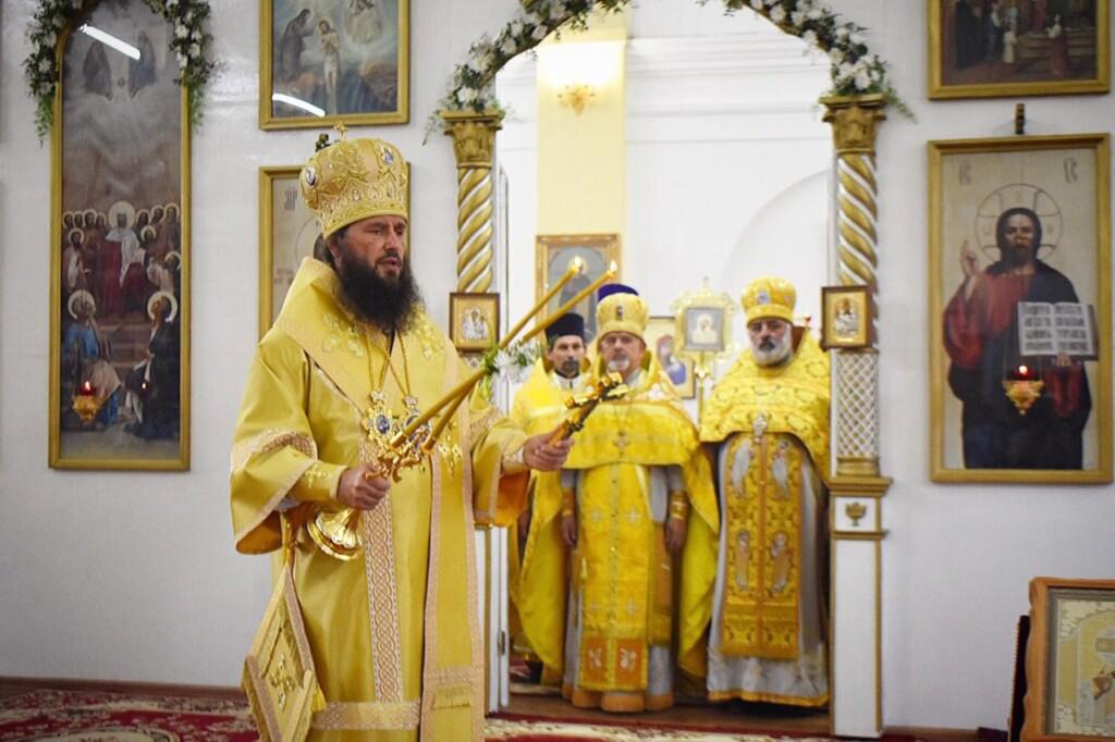 Свято-Ильинский храм отметил престольный праздник