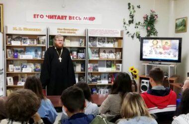 Школьникам рассказали о великом князе и возрождении собора