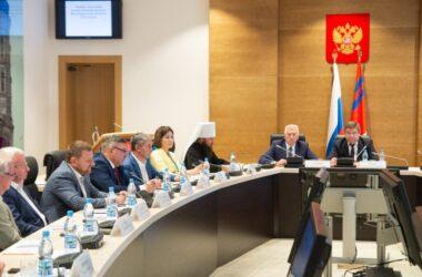 Митрополит Феодор принял участие в заседании Общественной палаты