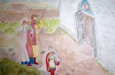 Юные художники Волгограда стали победителями художественного конкурса «Наследие святого благоверного князя Александра Невского»