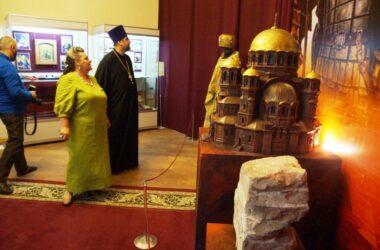 В Волгограде начала работу выставка «Царицынский собор Александра Невского»