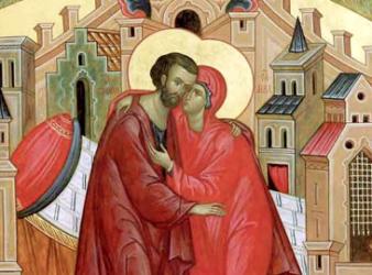 Святая Церковь чтит память праведных Иоакима и Анны