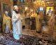 Митрополит Феодор совершил Литургию в Свято-Троицком Болдином монастыре